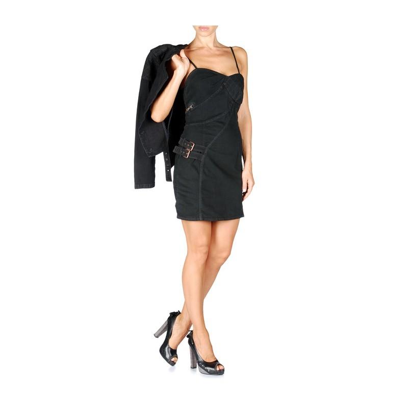 robe-noir-femme-classe-diesel-black-gold